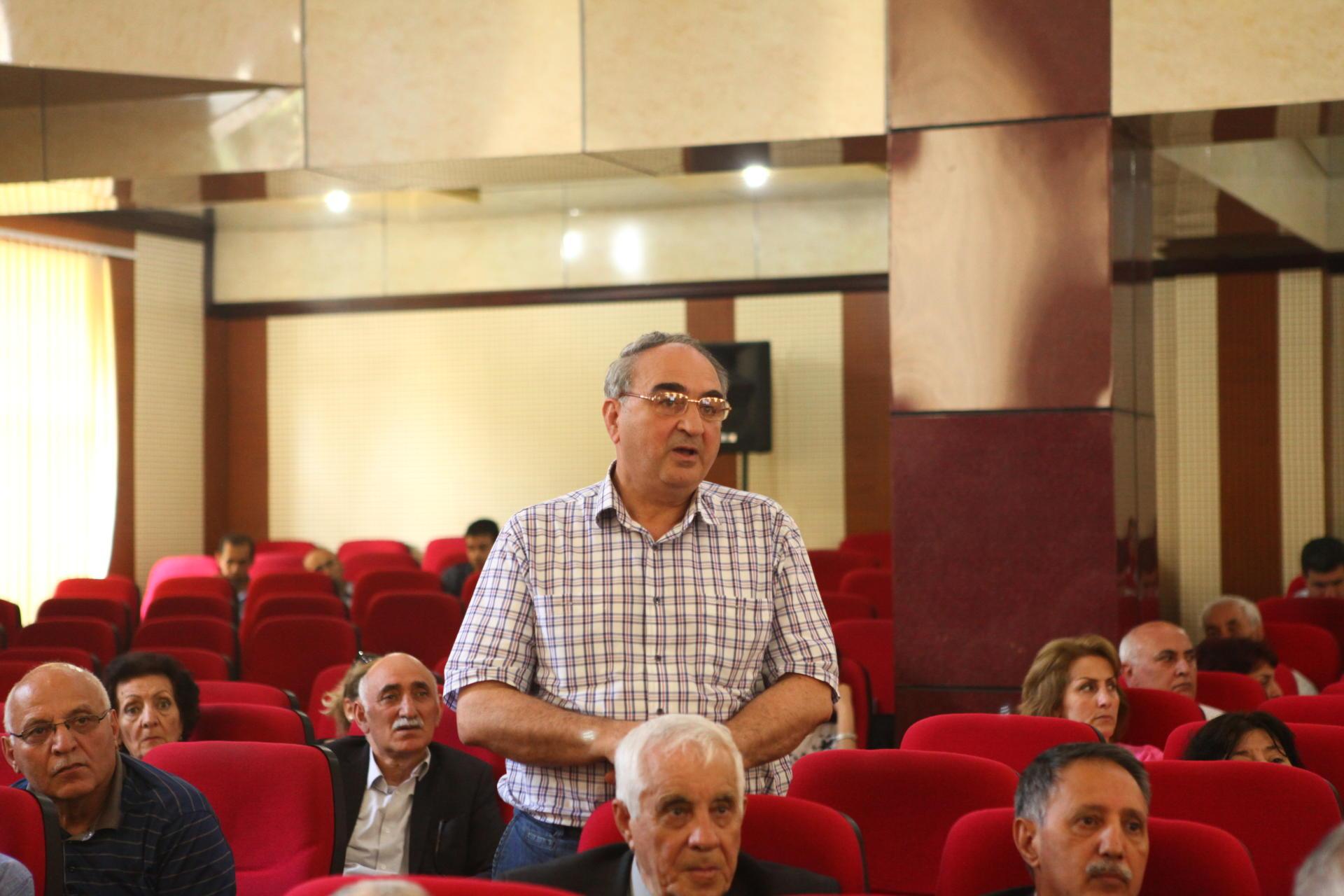 BDU-da yapon şirkətinin əməkdaşlarının iştirakı ilə seminar keçirilib (FOTO) - Gallery Image