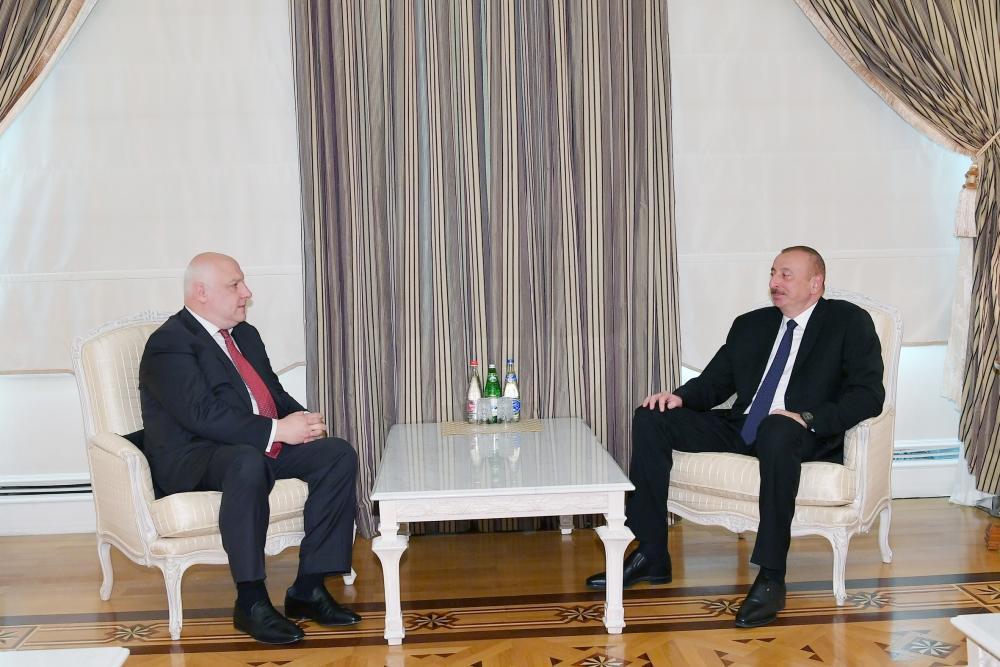 Prezident İlham Əliyev ATƏT Parlament Assambleyasının prezidentini qəbul edib (YENİLƏNİB)