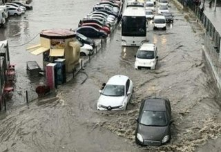 Heavy rainfall causes flooding in Albania