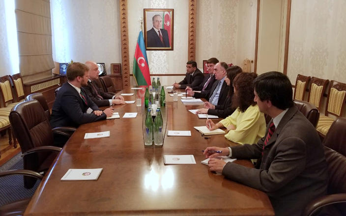 Mammadyarov meets with President of OSCE PA