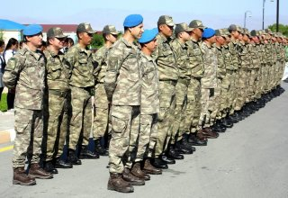 "Azerbaijan holds farewell ceremony for Turkish servicemen after ""Indestructible Brotherhood-2019"" Exercises (PHOTO/VIDEO)"