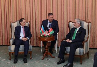 Azerbaijani PM meets with Chief Executive of Afghanistan (PHOTO)