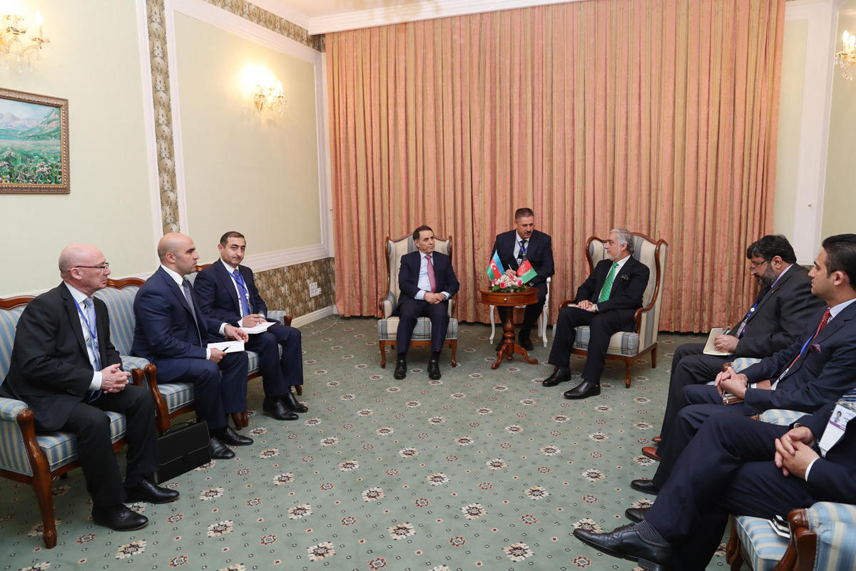 Azerbaijani PM meets with Chief Executive of Afghanistan (PHOTO) - Gallery Image