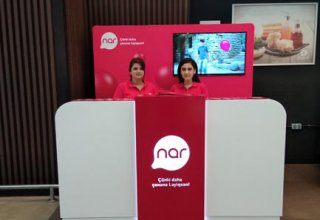 Nar is already at hypermarket for the customers' convenience