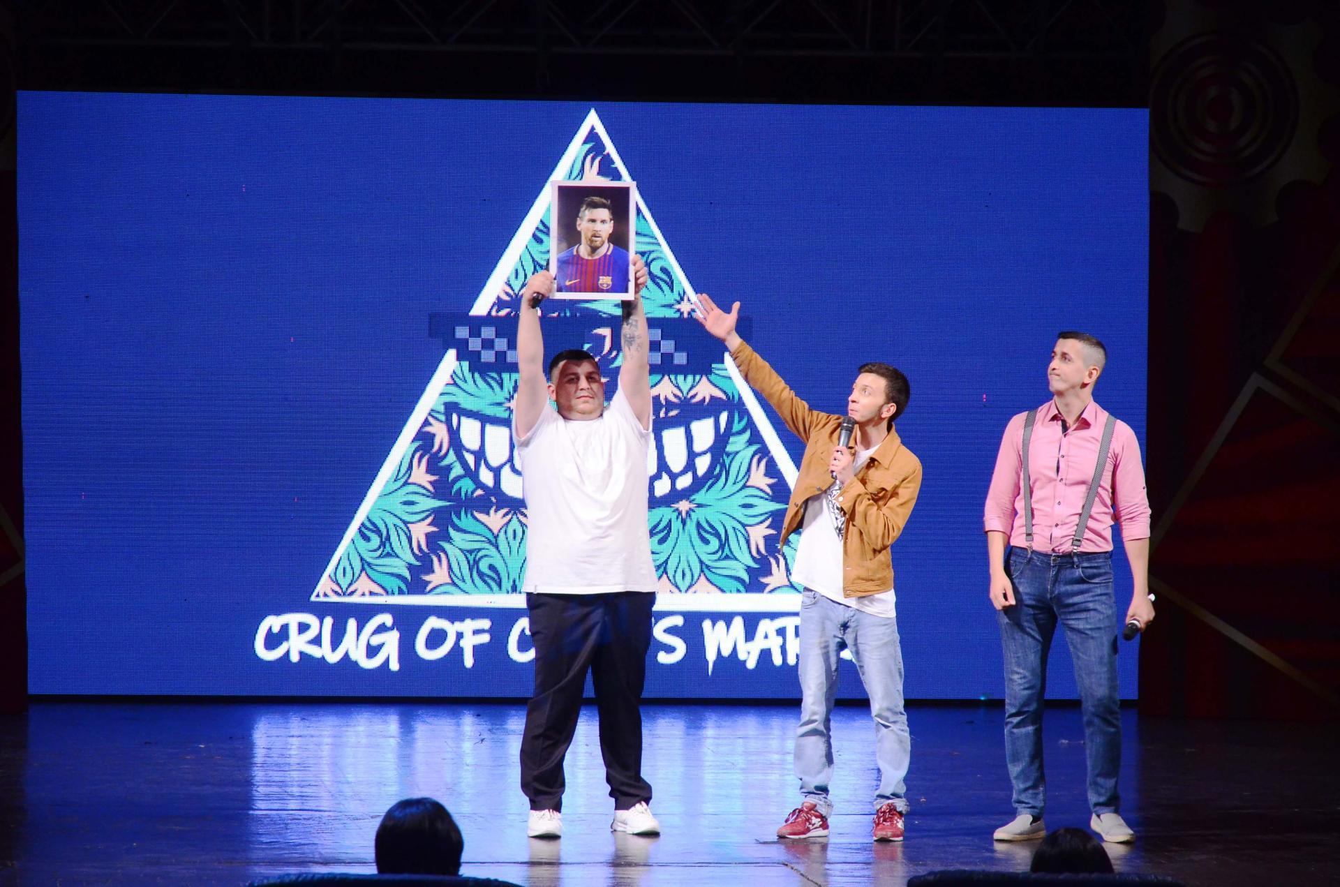 Самый веселый летний уик-энд в Баку – открытие Азербайджанской Лиги Смеха (ФОТО) - Gallery Image