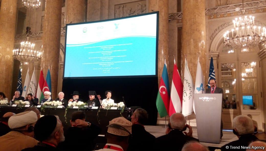 Baku Network Expert Council head attends int'l conference in Vienna (PHOTO) - Gallery Image