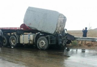 Two cars collide with truck in Iran