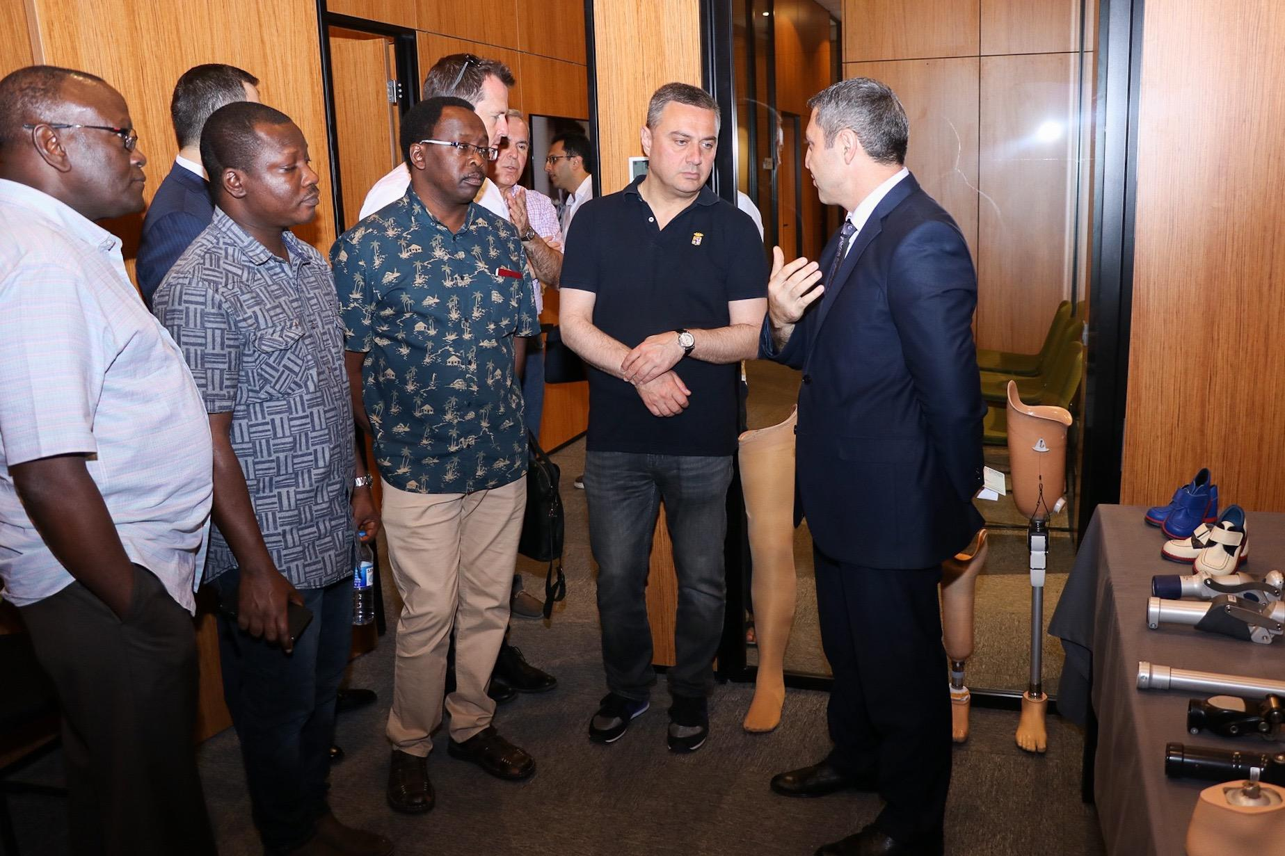 Reps of int'l organizations familiarized with activity of Azerbaijan's DOST center in Baku (PHOTO) - Gallery Image