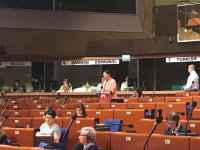 Azerbaijani MP urges PACE to take strict steps towards Armenia (PHOTO) - Gallery Thumbnail