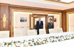 Президент Ильхам Алиев ознакомился с условиями после реконструкции в Военном лицее им. Дж. Нахчыванского (ФОТО) (версия 2) - Gallery Thumbnail