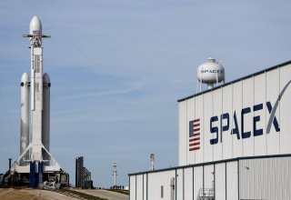 SpaceX launches rocket with 54 satellites