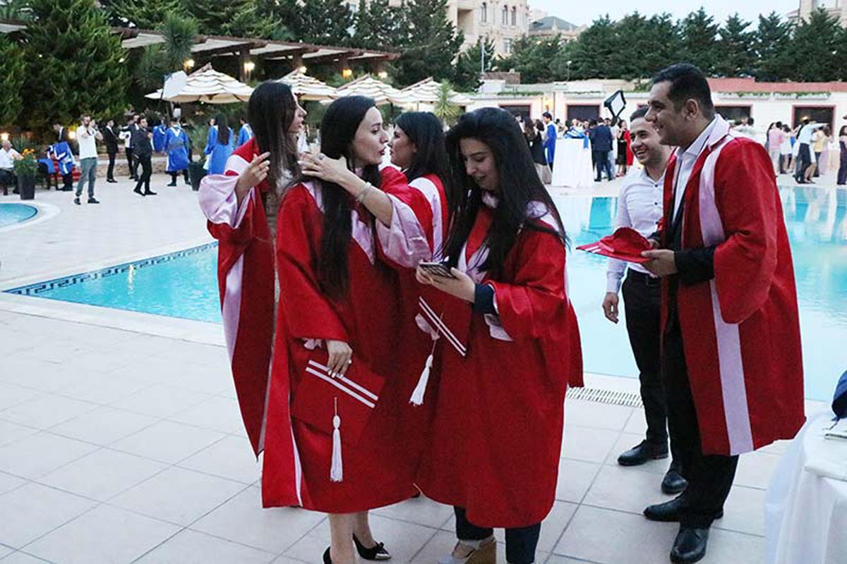 Состоялся XXV выпускной вечер Азербайджанского университета (ФОТО) - Gallery Image