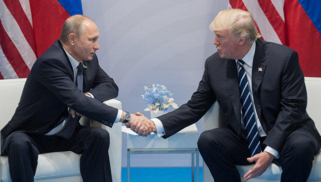Trump and Putin issue rare joint statement promoting cooperation