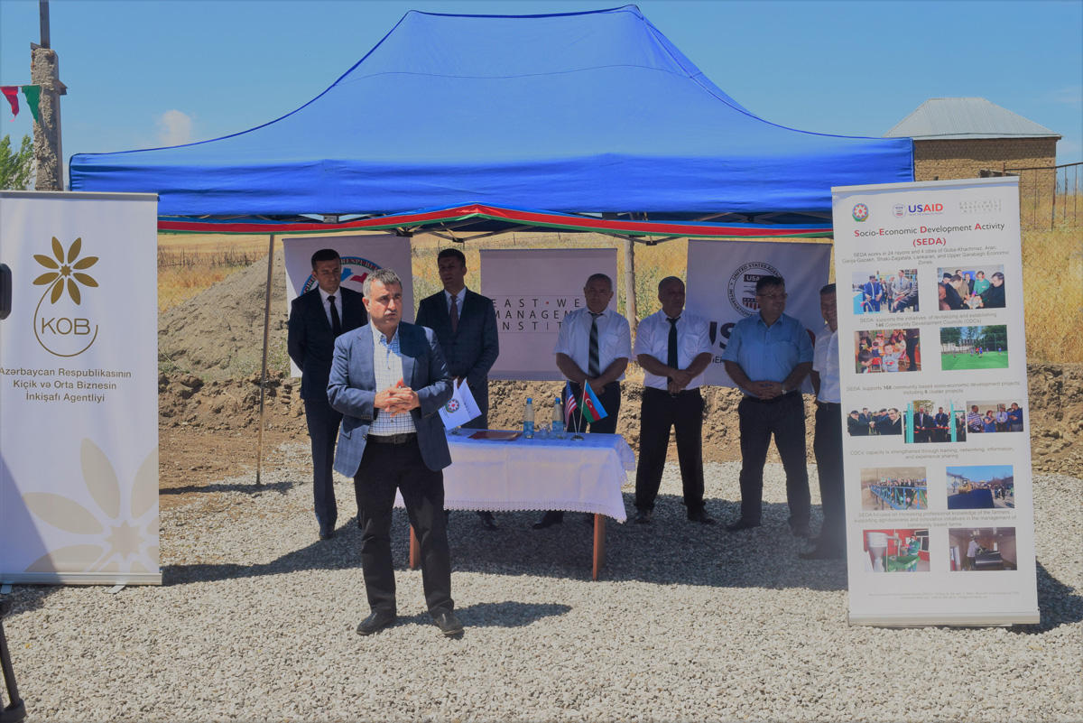 Azerbaijani region of Gusar commissions feed processing plant (PHOTO) - Gallery Image