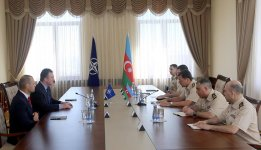 Chief of General Staff of Azerbaijani Armed Forces meets Commander of NATO Special Operations Headquarters (PHOTO) - Gallery Thumbnail
