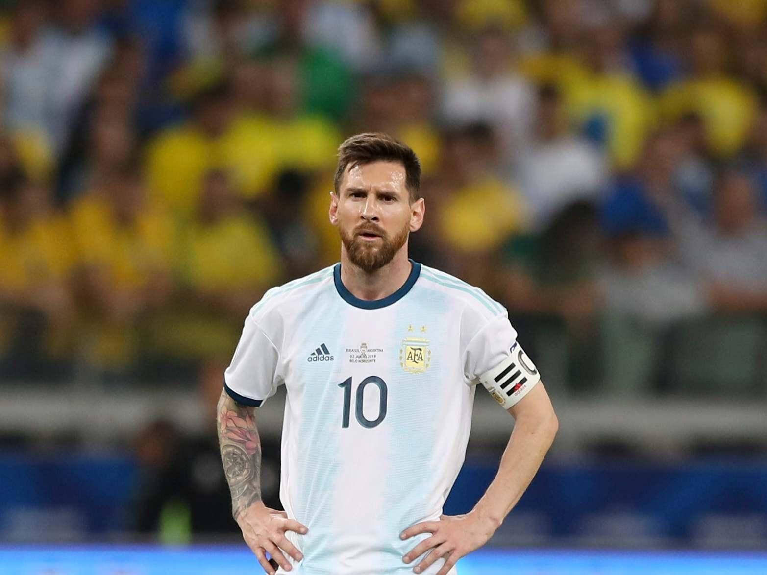 Argentina 2 Chile 1: Messi sees red in tempestuous third-place play-off