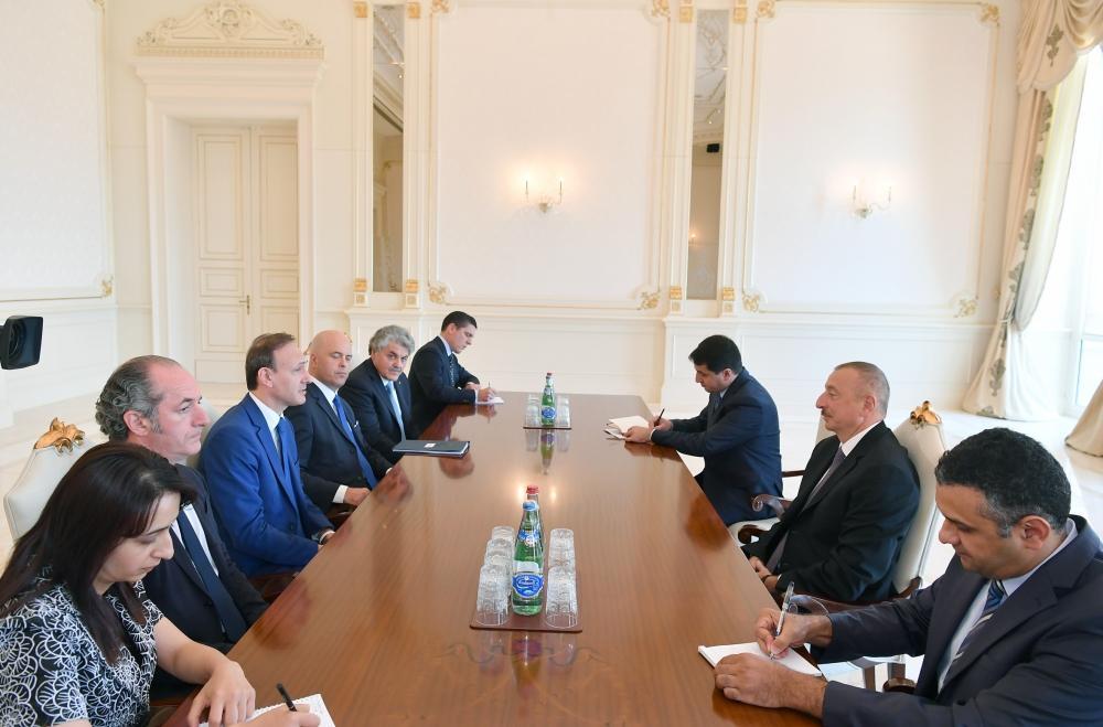 Prezident İlham Əliyev: Qarşılıqlı maraqlara əsaslanan Azərbaycan-İtaliya əlaqələri uğurlu əməkdaşlığın gözəl nümunələrindən biridir (YENİLƏNİB)