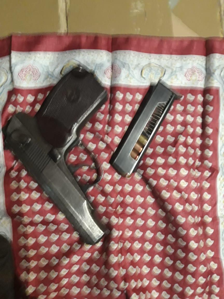 Cəlilabadda odlu silah aşkarlanıb (FOTO)