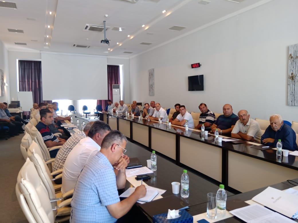 В Шеки-Загатальском регионе прошли встречи  с производителями табака (ФОТО) - Gallery Image
