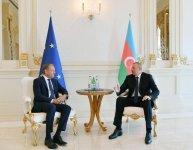 Состоялась встреча Президента Ильхама Алиева и главы Совета Евросоюза (ФОТО) (версия 2) - Gallery Thumbnail