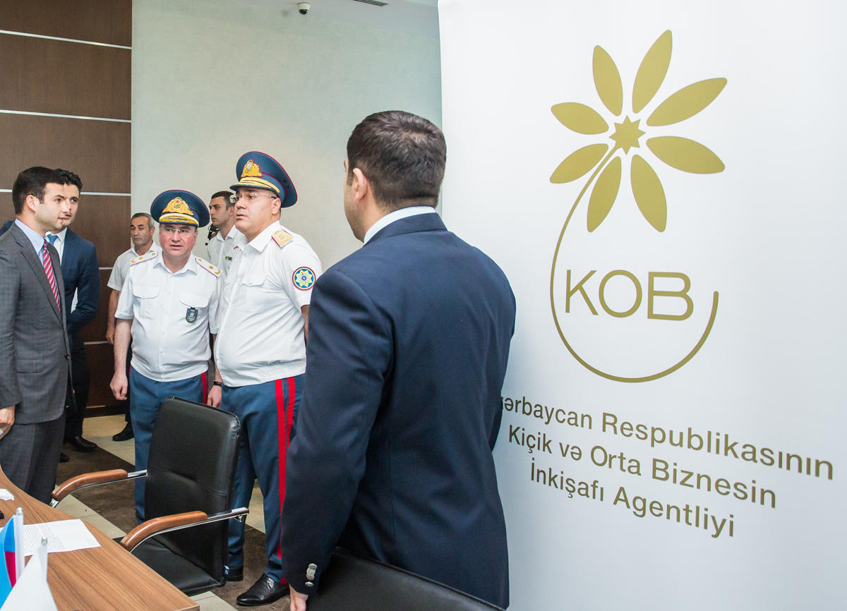 Friend of SMEs commissioned in Baku Head Customs Department (PHOTO) - Gallery Image