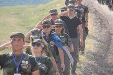 Азербайджанская молодежь прошла обучение ведению боевых действий в экстремальных условиях (ФОТО/ВИДЕО) - Gallery Thumbnail