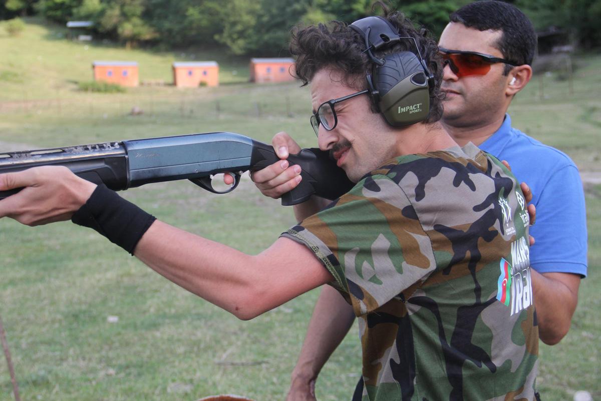 Азербайджанская молодежь прошла обучение ведению боевых действий в экстремальных условиях (ФОТО/ВИДЕО) - Gallery Image