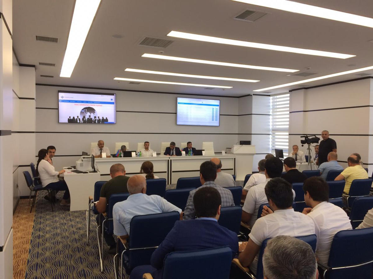 Azerbaijan's State Property Affairs Committee auctions 11 state property facilities in Baku (PHOTO) - Gallery Image