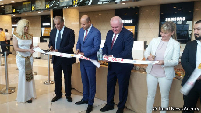 Opening ceremony of Baku-Sharm El-Sheikh regular flight held (PHOTO)
