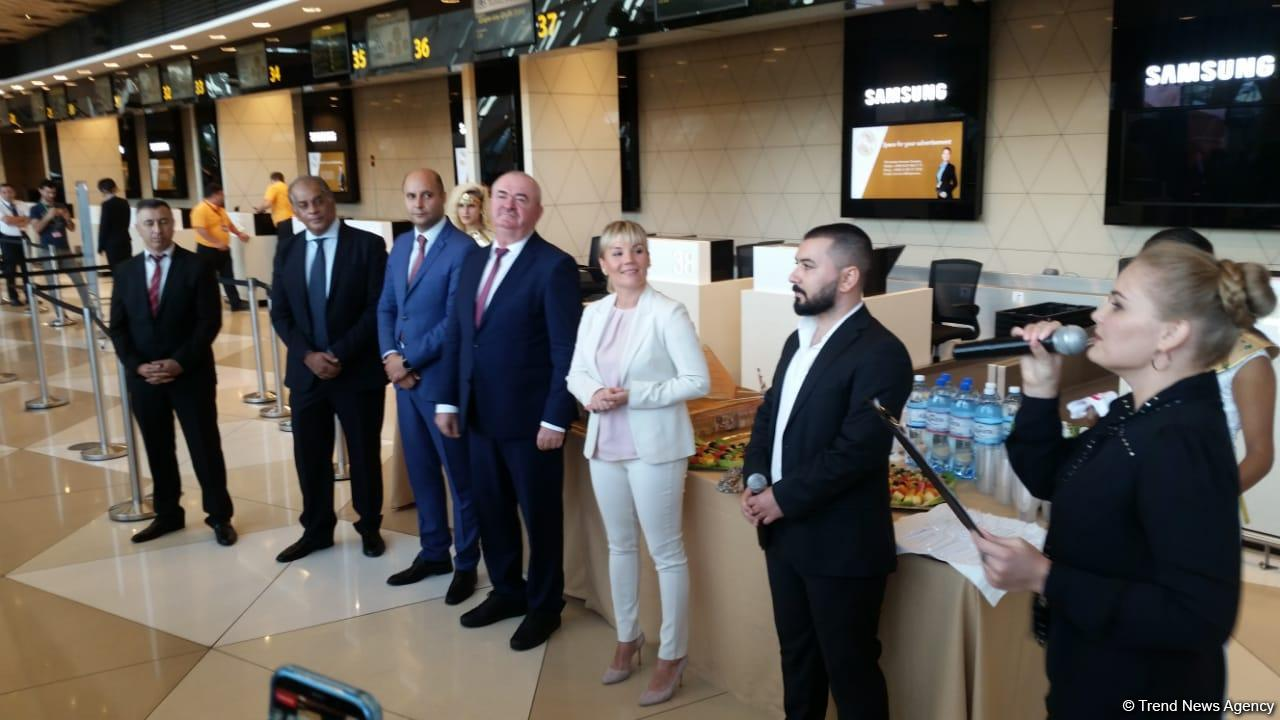 Opening ceremony of Baku-Sharm El-Sheikh regular flight held (PHOTO) - Gallery Image