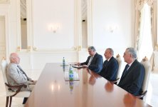 President Ilham Aliyev received President of European Olympic Committees (PHOTO) (UPDATE) - Gallery Thumbnail