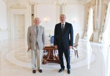 President Ilham Aliyev received President of European Olympic Committees (PHOTO) - Gallery Thumbnail
