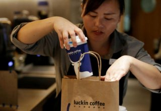 Starbucks' China rival Luckin Coffee plans first foray overseas