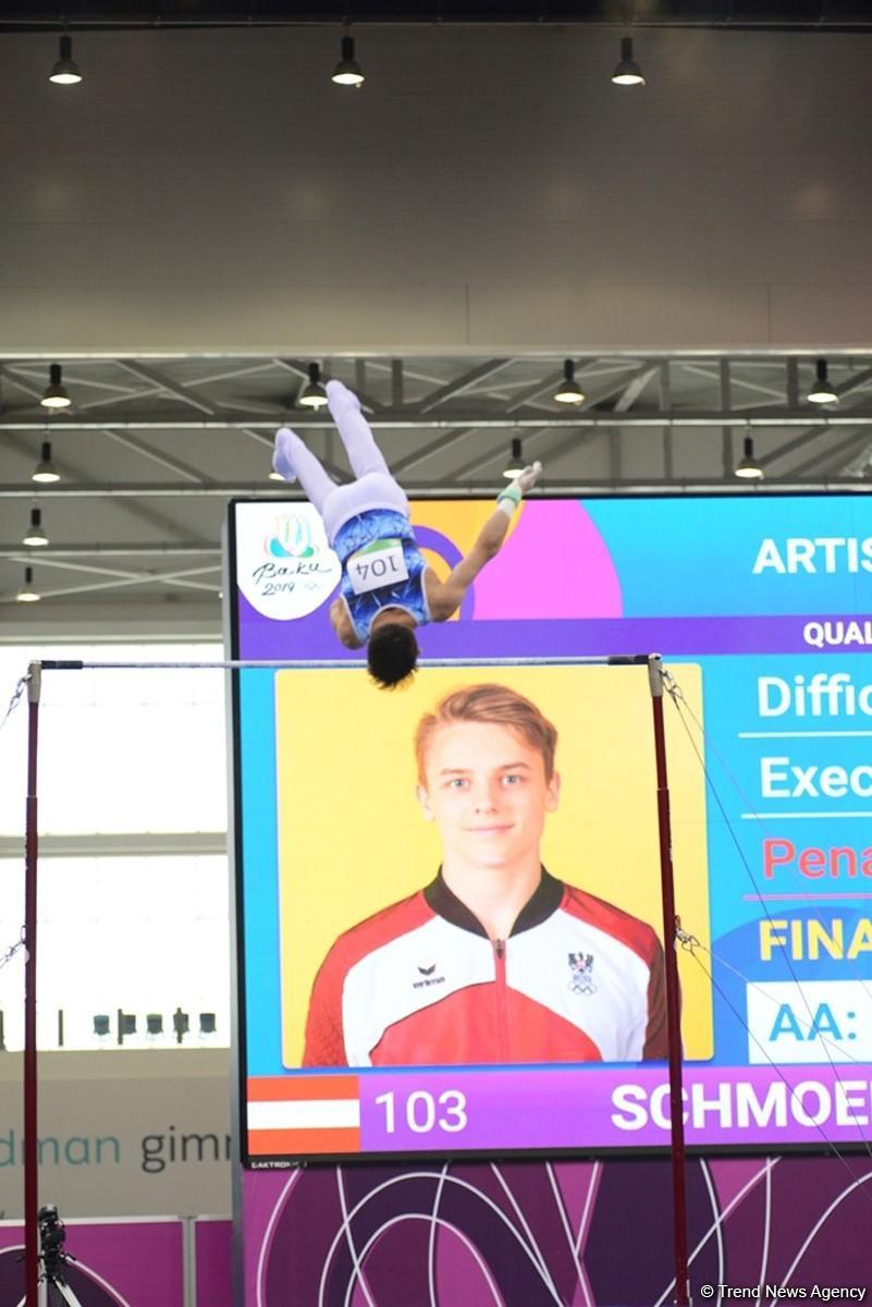 Competitions in artistic gymnastics underway within EYOF Baku 2019 (PHOTO) - Gallery Image