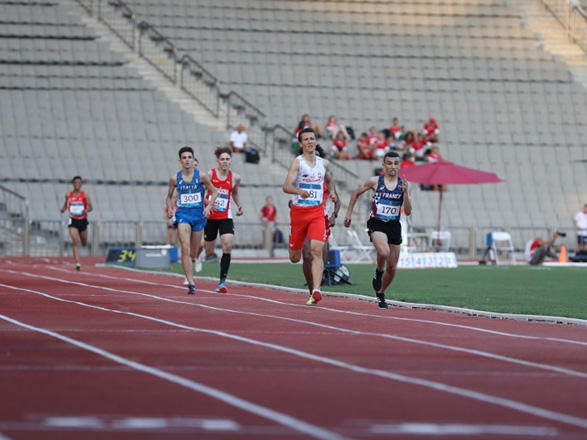Winners of 1500 meters distance running competition named at EYOF Baku 2019