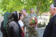 Закир Гасанов принял участие в открытии нового военного объекта в прифронтовой зоне (ФОТО/ВИДЕО) - Gallery Thumbnail