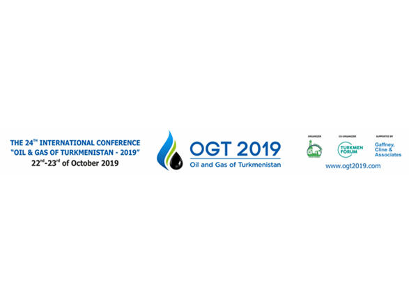 """24th """"Oil and Gas of Turkmenistan"""" int'l conference (OGT 2019)"""