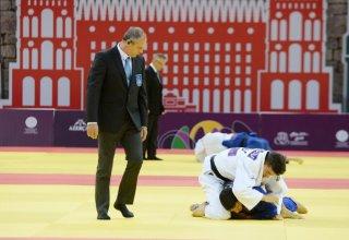 Two Azerbaijani judokas reach EYOF Baku 2019 semifinals