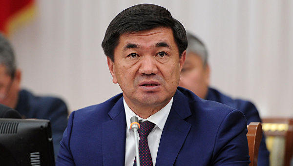 Kyrgyz PM instructs to strengthen measures to improve public procurement system