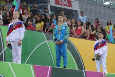 Ukrainian gymnast grabs gold in EYOF Baku 2019 individual all-around competitions (PHOTO) - Gallery Thumbnail