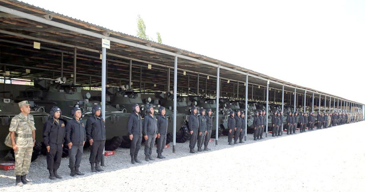 Продолжается проверка воинских частей азербайджанской армии  (ФОТО/ВИДЕО) - Gallery Image