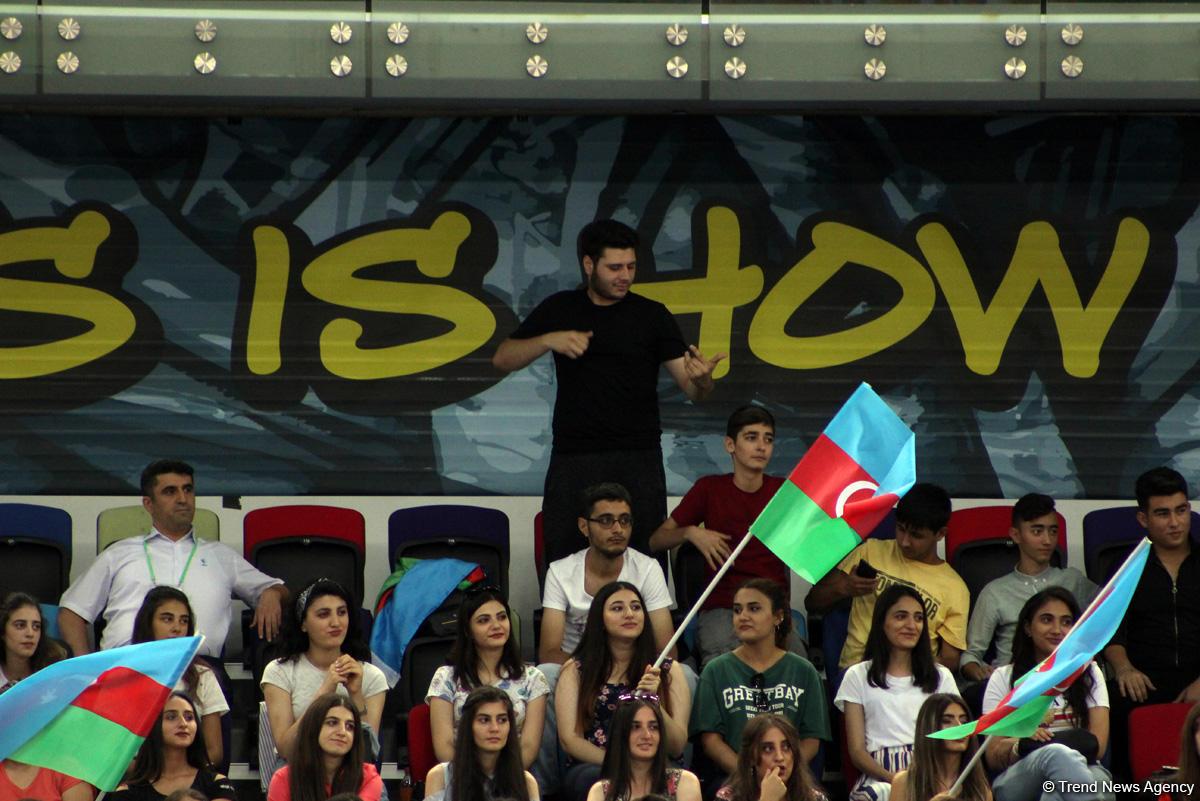 """""""EYOF Bakı-2019"""": İdman gimnastikası yarışlarından maraqlı anlar (FOTO) - Gallery Image"""