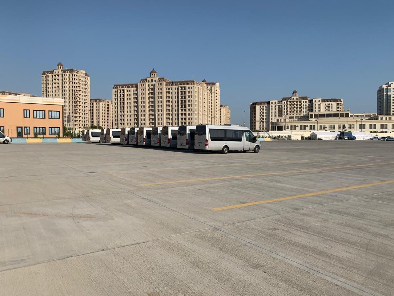 140 buses, 38 minibuses transporting guests, athletes to EYOF Baku 2019 sports facilities (PHOTO) - Gallery Image