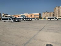 140 buses, 38 minibuses transporting guests, athletes to EYOF Baku 2019 sports facilities (PHOTO) - Gallery Thumbnail