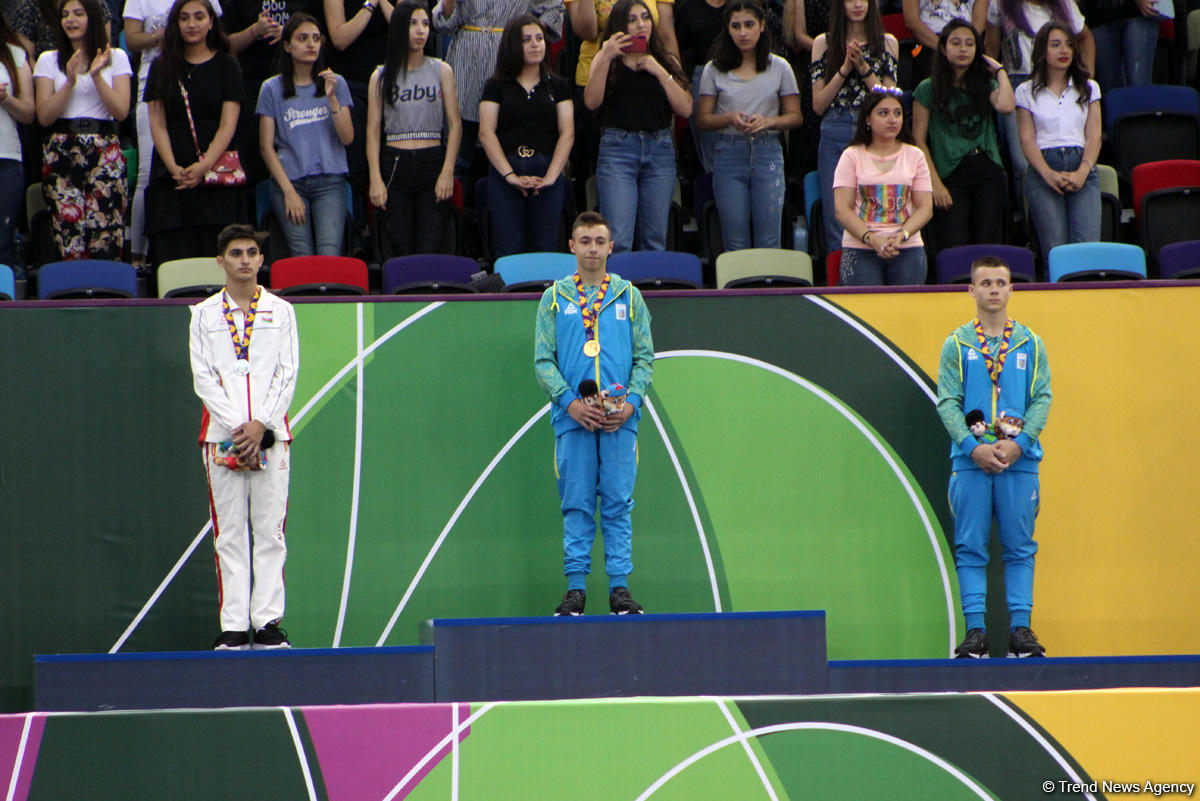 Winners of EYOF Baku 2019 artistic gymnastics competitions awarded (PHOTO) - Gallery Image