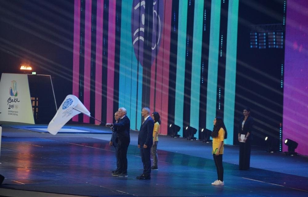 Heydar Aliyev Foundation VP Leyla Aliyeva attends closing ceremony of XV Summer European Youth Olympic Festival (PHOTO/VIDEO) - Gallery Image