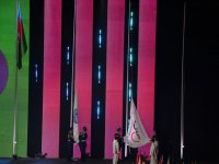 Heydar Aliyev Foundation VP Leyla Aliyeva attends closing ceremony of XV Summer European Youth Olympic Festival (PHOTO/VIDEO) - Gallery Thumbnail