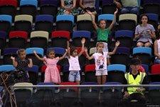 """""""EYOF Bakı-2019"""": İdman gimnastikası yarışlarından maraqlı anlar (FOTO) - Gallery Thumbnail"""