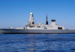 Second British warship enters the Gulf