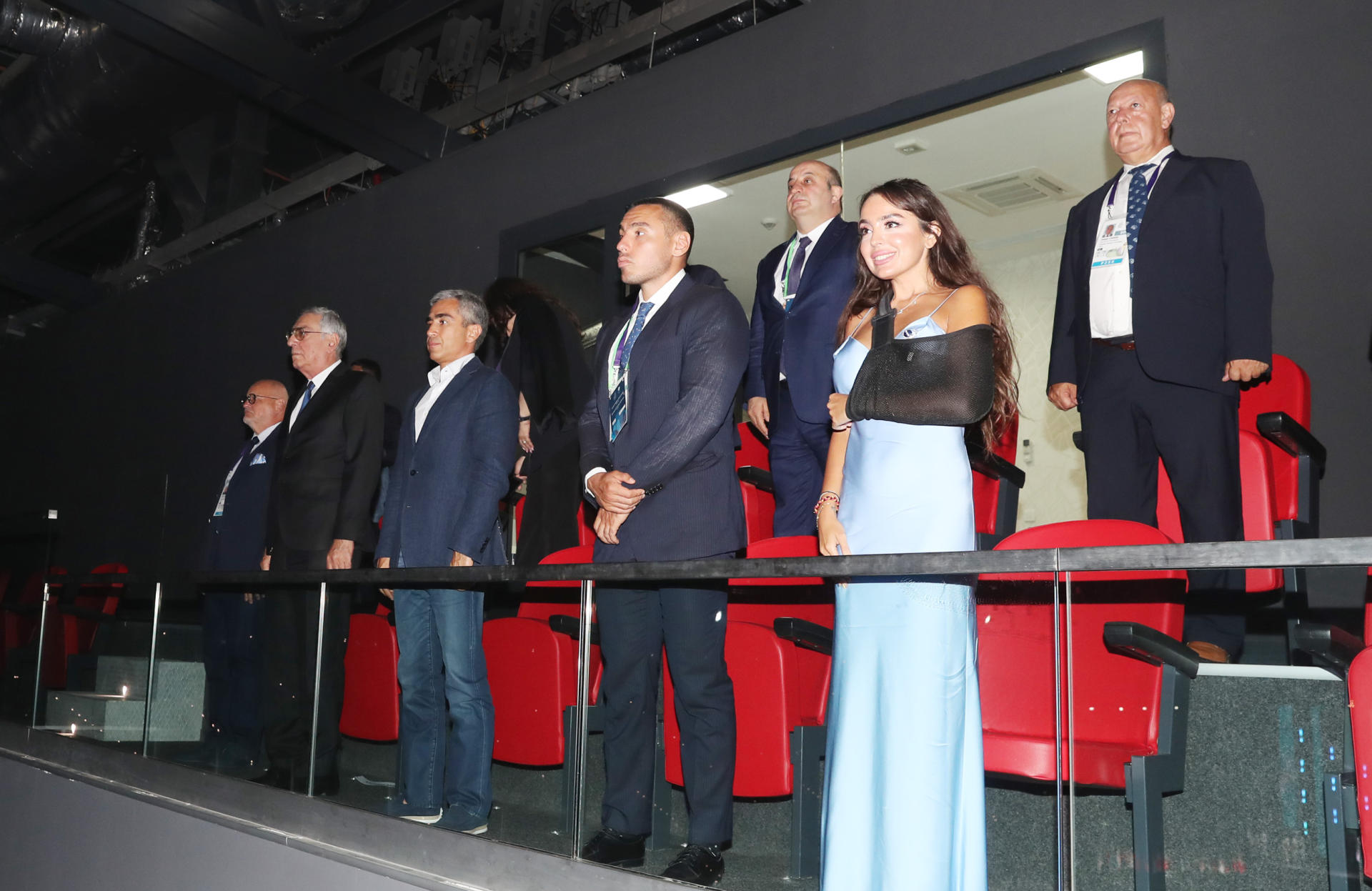 Heydar Aliyev Foundation VP Leyla Aliyeva attends closing ceremony of XV Summer European Youth Olympic Festival (PHOTO/VIDEO)